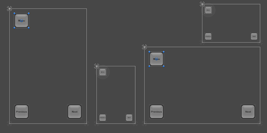 L'interface utilisateur s'adapte parfaitement à toutes les résolutions