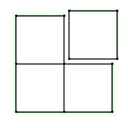 Chaque composant est composé d'un seul quad