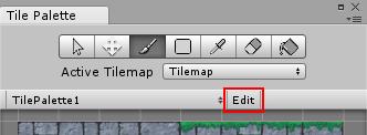 modifier une palette d'un Tilemap